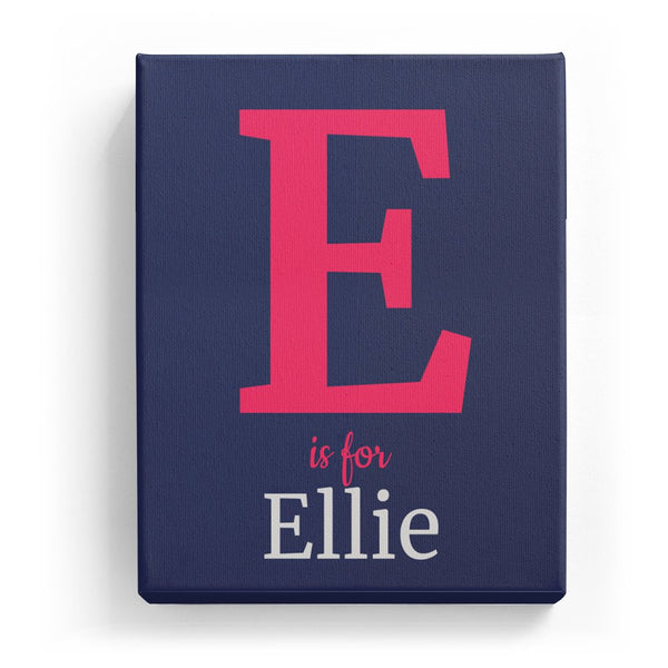E is for Ellie - Classic