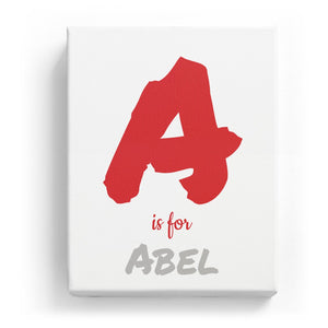A is for Abel - Artistic