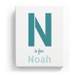 N is for Noah - Stylistic