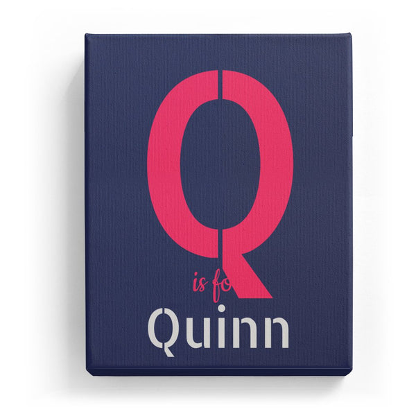 Q is for Quinn - Stylistic