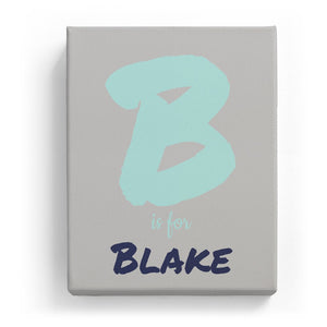 B is for Blake - Artistic