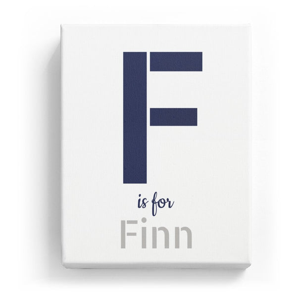 F is for Finn - Stylistic