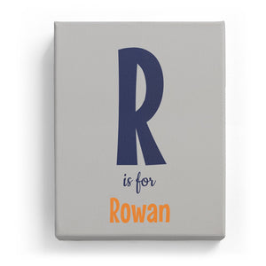 R is for Rowan - Cartoony