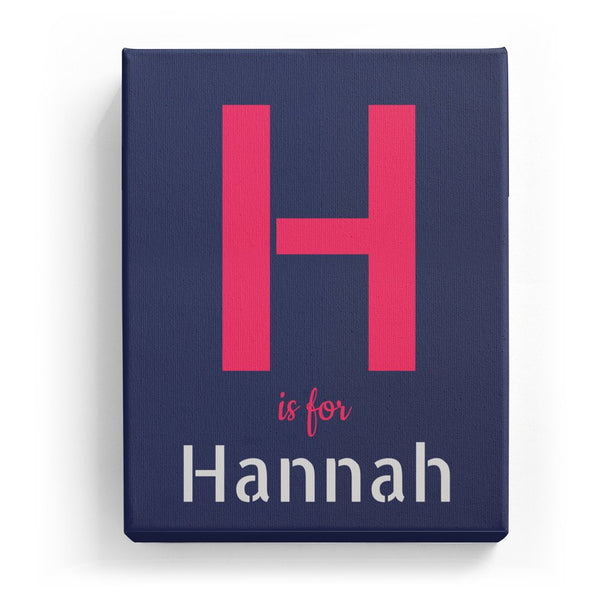 H is for Hannah - Stylistic