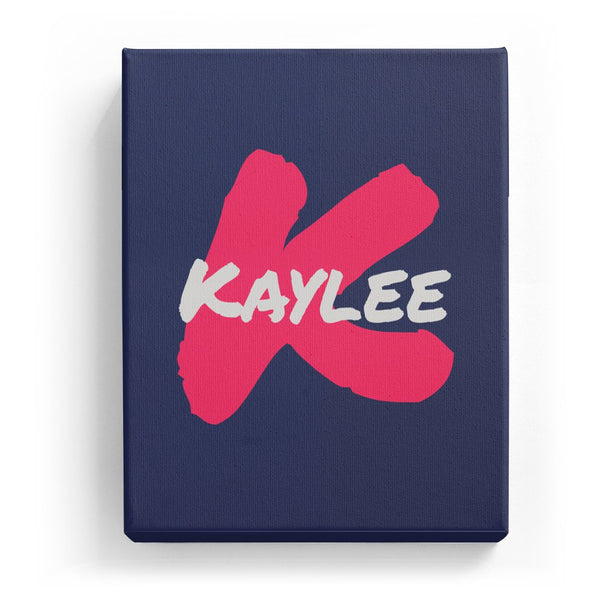 Kaylee Overlaid on K - Artistic