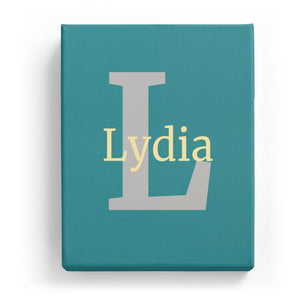Lydia Overlaid on L - Classic