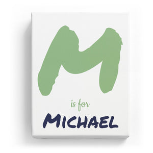 M is for Michael - Artistic