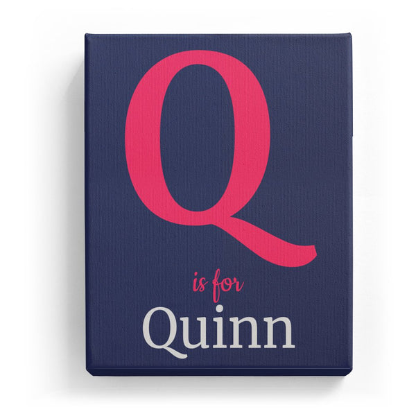 Q is for Quinn - Classic
