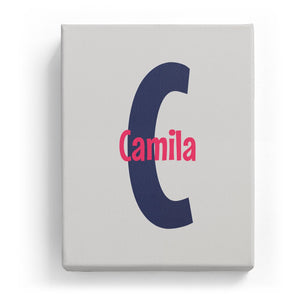 Camila Overlaid on C - Cartoony