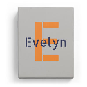 Evelyn Overlaid on E - Stylistic