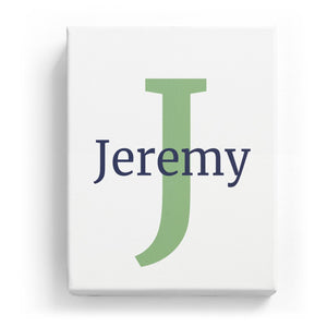 Jeremy Overlaid on J - Classic