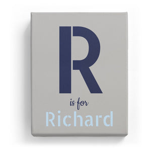 R is for Richard - Stylistic