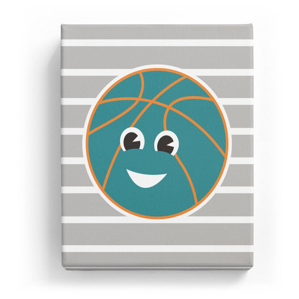 Basketball with a Face (Mirror Image)