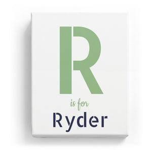 R is for Ryder - Stylistic