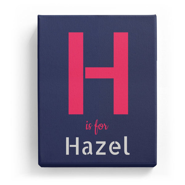 H is for Hazel - Stylistic