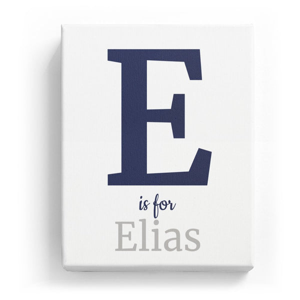 E is for Elias - Classic