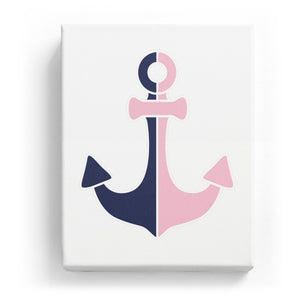 Anchor - Dual Color - No Background (Mirror Image)