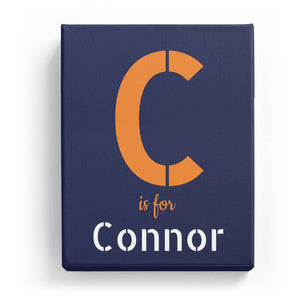 C is for Connor - Stylistic