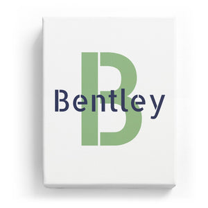 Bentley Overlaid on B - Stylistic