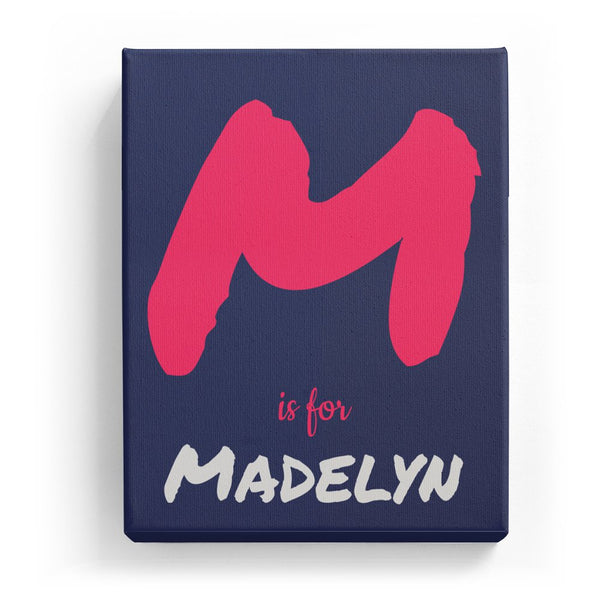 M is for Madelyn - Artistic