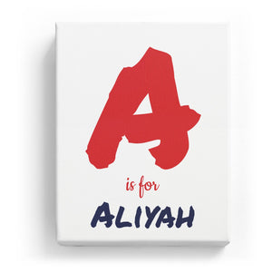A is for Aliyah - Artistic