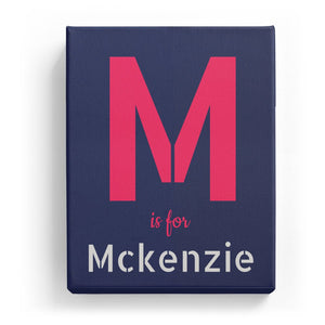 M is for Mckenzie - Stylistic