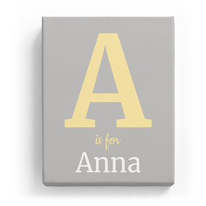 A is for Anna - Classic