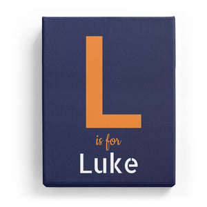 L is for Luke - Stylistic