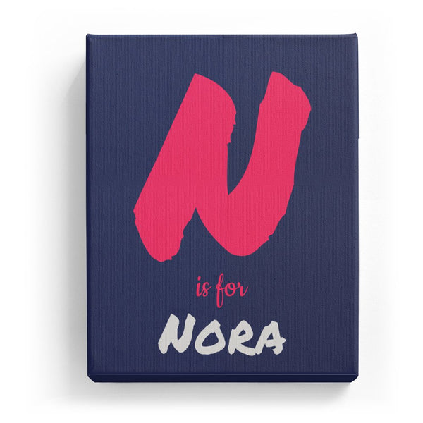 N is for Nora - Artistic