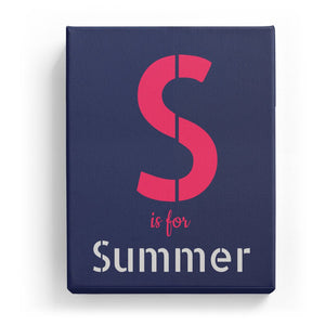 S is for Summer - Stylistic
