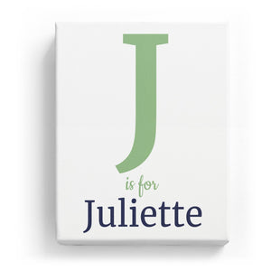 J is for Juliette - Classic