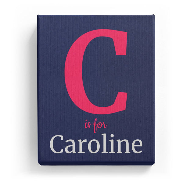C is for Caroline - Classic
