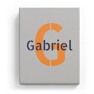 Gabriel Overlaid on G - Stylistic