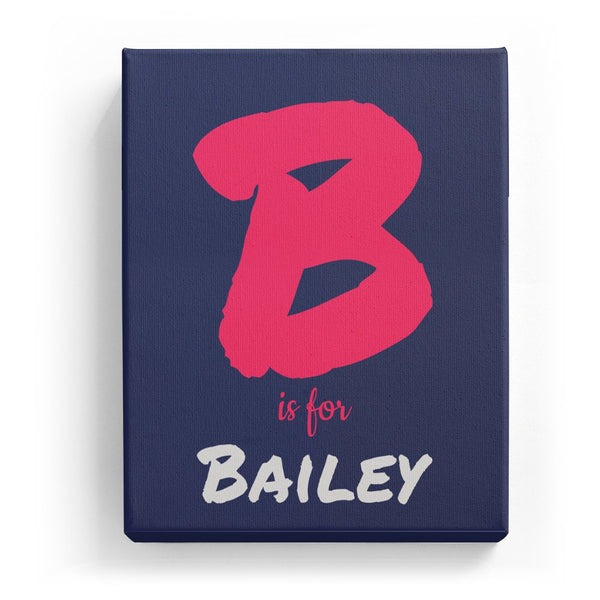B is for Bailey - Artistic