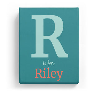 R is for Riley - Classic
