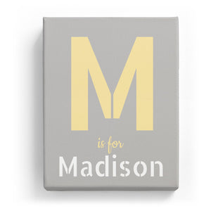 M is for Madison - Stylistic