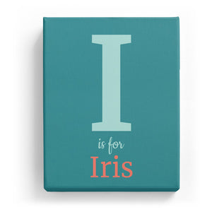 I is for Iris - Classic