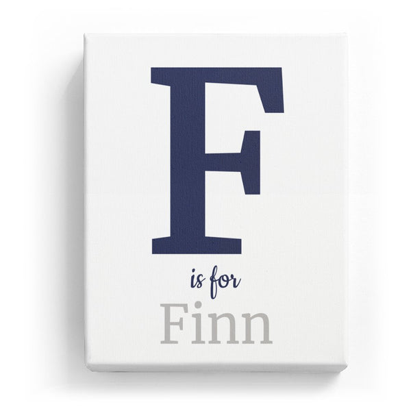 F is for Finn - Classic