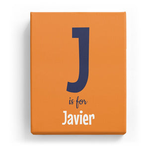 J is for Javier - Cartoony