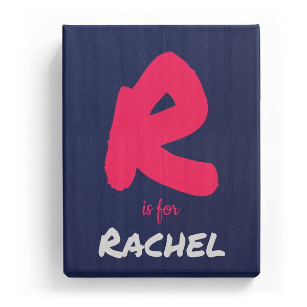 R is for Rachel - Artistic