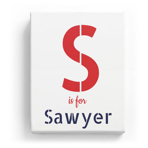S is for Sawyer - Stylistic