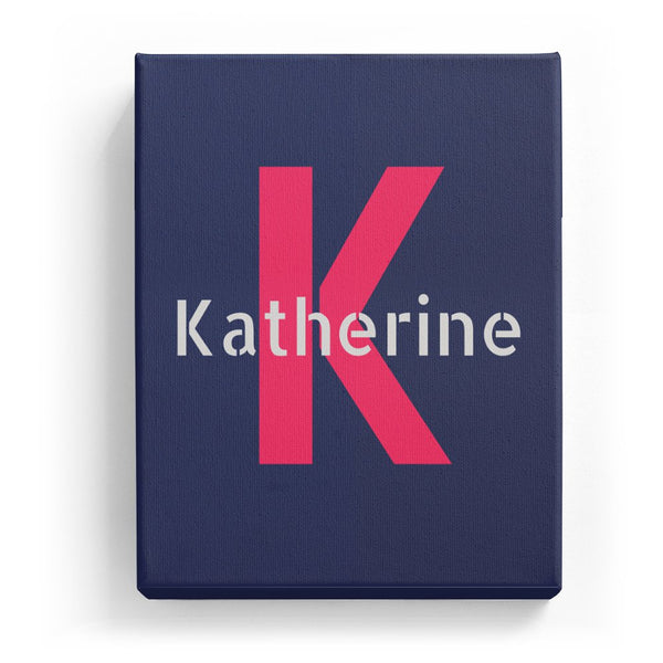 Katherine Overlaid on K - Stylistic