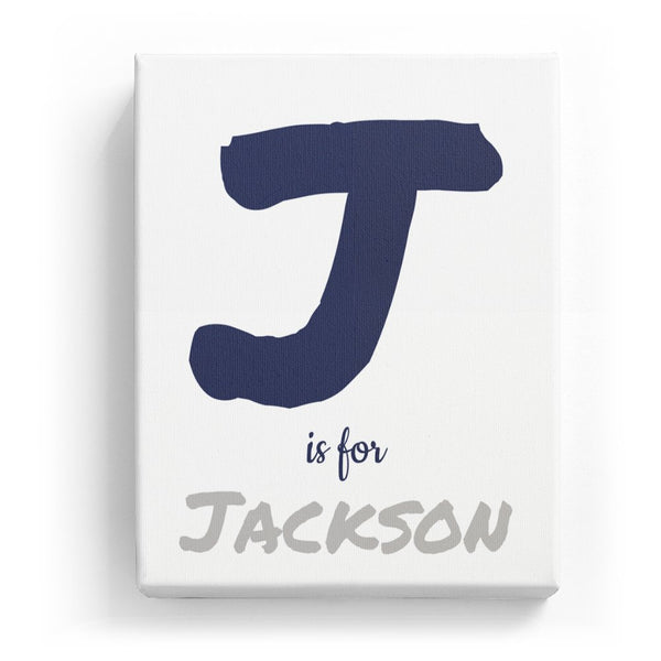 J is for Jackson - Artistic