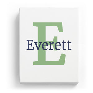 Everett Overlaid on E - Classic
