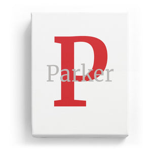 Parker Overlaid on P - Classic