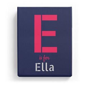 E is for Ella - Stylistic