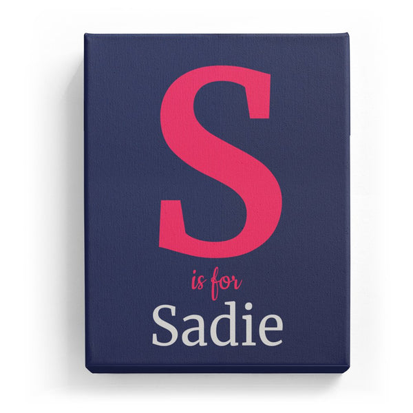 S is for Sadie - Classic