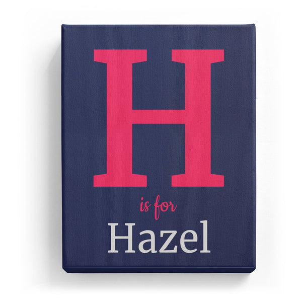 H is for Hazel - Classic