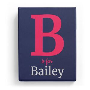 B is for Bailey - Classic