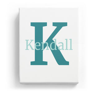 Kendall Overlaid on K - Classic